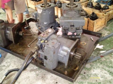 维修液压泵