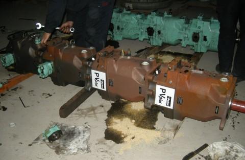 派克串泵维修
