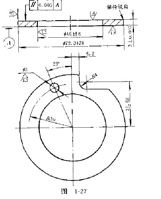 补偿铜垫结构图